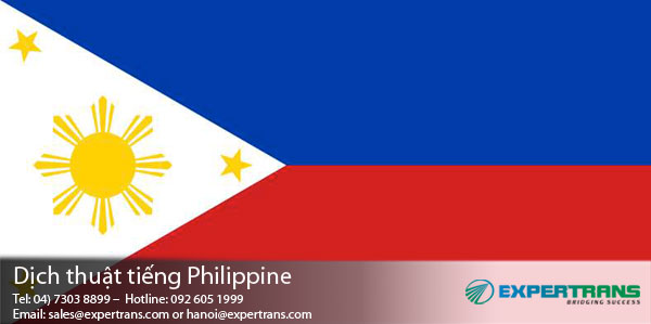 dich tieng philippines